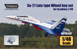 1-48-Su-27-Flanker-Late-type-wheel-bay-set-for-Academy