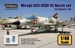 1-48-Mirage-IIICJ-ATAR-9C-Engine-Nozzle-set-for-Eduard