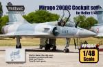 1-48-Mirage-2000C-Cockpit-set-for-Heller-1-48