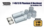 1-48-F-4B-C-D-Phantom-II-J79-Engine-Nozzle-set-for-Academy-1-48