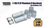 1-48-F-4B-C-D-Phantom-II-J79-Engine-Nozzle-set-for-Academy-1-48