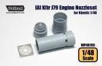 1-48-IAI-Kfir-J79-Engine-Nozzle-set-for-Kinetic-1-48