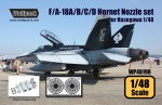 1-48-F-A-18A-B-C-D-Hornet-F404-Engine-Nozzle-set-for-Hasegawa-1-48