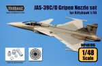 1-48-JAS-39C-D-Gripen-RM12-Engine-Nozzle-set-for-Kittyhawk-1-48