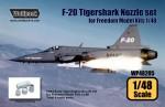 1-48-F-20-Tigershark-F404-Engine-Nozzle-set-for-Freedom-Model-Kits-1-48