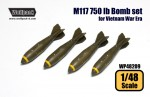 1-48-M117-750-lb-Bomb-set-for-Vietnam-War-Era