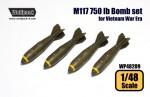 1-48-M117-750-lb-Bomb-set-for-Vietnam-War-Era