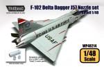 F-102-Delta-Dagger-J57-Engine-Nozzle-set