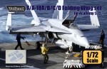 1-72-F-A-18A-B-C-D-Hornet-Folding-wing-set-for-Academy