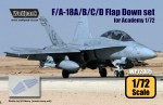 1-72-F-A-18A-B-C-D-Hornet-Flap-Down-set-for-Academy