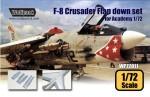 RARE-1-72-F-8E-Crusader-Flap-down-set