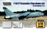 1-72-F-8J-Crusader-Flap-down-set-for-Academy-1-72