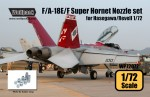 1-72-F-A-18E-F-Super-Hornet-F414-Engine-Nozzle-set-for-Hasegawa-Revell-1-72
