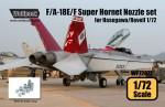 1-72-F-A-18E-F-Super-Hornet-F414-Engine-Nozzle-set-for-Hasegawa-Revell-1-72