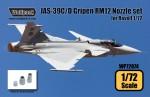 1-72-JAS-39C-D-Gripen-RM12-Engine-Nozzle-set-for-Revell-1-72