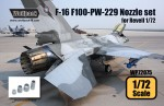 1-72-F-16-F100-PW-229-Engine-Nozzle-set-for-Revell