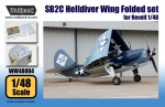 RARE-1-48-SB2C-Helldiver-Wing-Folded-set