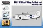 1-48-FM-1-Wildcat-Wing-Folded-set-for-Tamiya-1-48