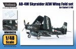 1-48-AD-4W-Skyraider-AEW-Wing-Fold-set-for-Italeri