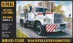 RARE-1-87-KrAZ-258Z-Baustellenzugmittel-Soviet-truck-SALE