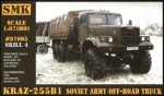 1-87-KrAZ-255B1-Soviet-Army-off-road-truck
