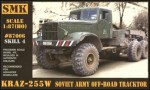 1-87-KrAZ-255W-Soviet-Army-off-road-tractor