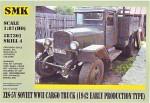 1-87-ZIS-5V-Soviet-WWII-cargo-truck-1942-early-production-type