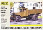 1-87-ZIS-5V-Soviet-WWII-cargo-truck-1943-mid-production-type