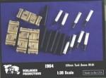 RARE-1-35-USA-M1A1-120MM-AMMO-CASE-SHELS