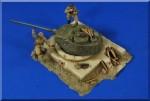 1-35-German-T34-Turret-Bunker-Figures-Accessories