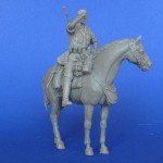 RARE-1-35-The-German-soldier-on-a-horse-WWII-1figires+horse