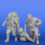 RARE-1-35-The-modern-German-soldiers-3-figures