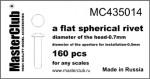 Flat-spherical-rivet-07*05mm