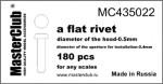 Flat-rivet-05*04mm