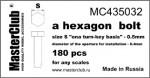 Hexagon-standart-bolt-head-0-5mm*-0-4mm