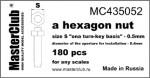Standart-hex-nut-0-5mm*-0-4mm