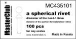 Spherical-rivet-16*10mm