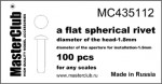 Flat-spherical-rive-16*10mm