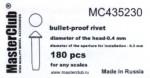 Cone-head-bullet-proof-rivet-diameter-of-the-head-0-5mm
