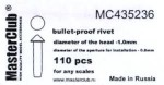 cone-head-bullet-proof-rivet-diameter-of-the-head-1-2mm