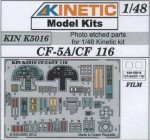 1-48-CF-5A-CF-116-Color-photo-etched-parts-for-Kinetic