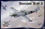 RARE-1-72-Messerschmitt-Bf-109A-WWII-German-fighter