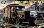 1-72-Einheitsdiesel-Kfz-61-WW2-German-truck