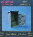 RARE-1-48-Wooden-Latrine-SALE