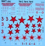 1-72-Decals-for-Twin-engined-Yaks-incl-PE-set