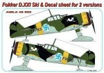 1-48-Fokker-D-XXI-Ski-+-decals-for-2-versions