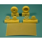 1-48-Curtiss-P-40-EARLY-wheels-+paint-masks