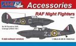 1-48-Hurricane-Mk-I-and-Defiant-Mk-I-6-stub-exhaust-versions-Part-I