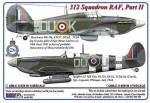 1-48-312-th-Squadron-RAF-Part-II-Hurricane-Mk-IIb-Z3437-DuoK-+-Spitfire-LF-Mk-IXe-PL124-DuoJ