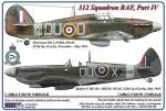 1-48-312-th-Squadron-RAF-Part-IV-Hurricane-Mk-I-P3888-DuoO-+-Spitfire-F-Mk-IXc-MH356-DuoX